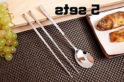 Turtle Design Korean Table Sticky Rice Spoon and Chopsticks