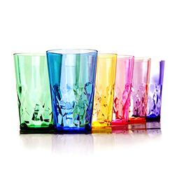 19 oz Unbreakable Premium Drinking Glasses - Set of 6 - Trit