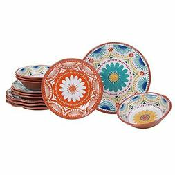 Certified International Vera Cruz Melamine 12 pc Dinnerware