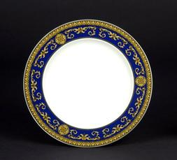 Versace by Rosenthal Medusa Blue 5-Piece Place Setting, Serv
