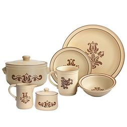 Pfaltzgraff Village Service for 8 Dinnerware With Serveware