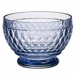Villeroy & Boch Boston Glass Bowl Set of 4 Blue