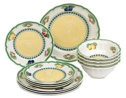 Villeroy & Boch French Garden 12-Pc. Dinnerware Set, Service