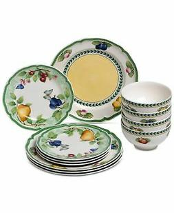 Villeroy & Boch French Garden Beaulieu 12-Pc. Dinnerware Set