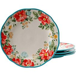 "The Pioneer Woman Vintage Floral 10.5"" Dinner Plate Set, Set"