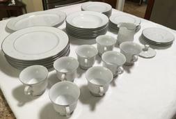 "Vintage Sango ""Florence"" #3646 Fine Bone China Dinnerware Se"