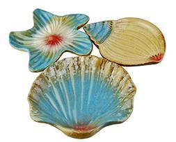 Vintage Mediterranean Style Ocean Starfish Seashell Sea Snai