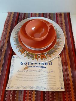 Vintage Melamine Dinnerware Set 20 pcs dinnerware set,new in