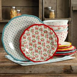 vintage mix match dishes pioneer woman 12