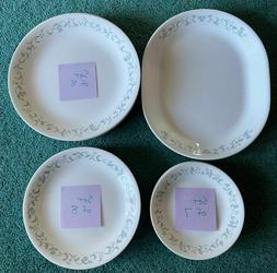 VTG Corelle Dinnerware Set Lot 24 Pieces Country Cottage Pla