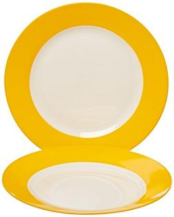 Waechtersbach Unisex Salad Plates Set of 2 Sun Dinnerware