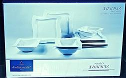 Villeroy & Boch New Wave 12pc Dinner Set for 4
