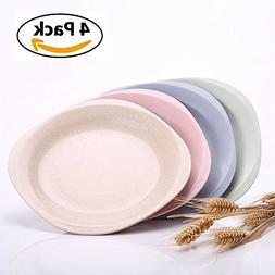 """UPSTYLE Children Plate  7.28"""", Wheat Straw Healthy Unbreakab"""