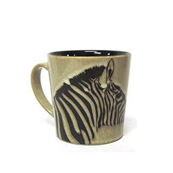 Wildlife Safari Zebra Stoneware Mug