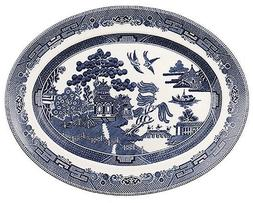 Johnson Brothers Willow Blue Platter by Johnson Brothers