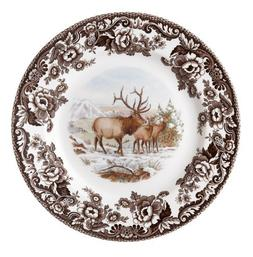 Spode Woodland American Wildlife Elk Salad Plate by Spode