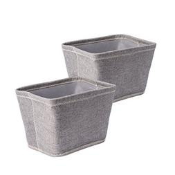 DII Collapsible Polyester Storage Basket or Bins, Home Organ